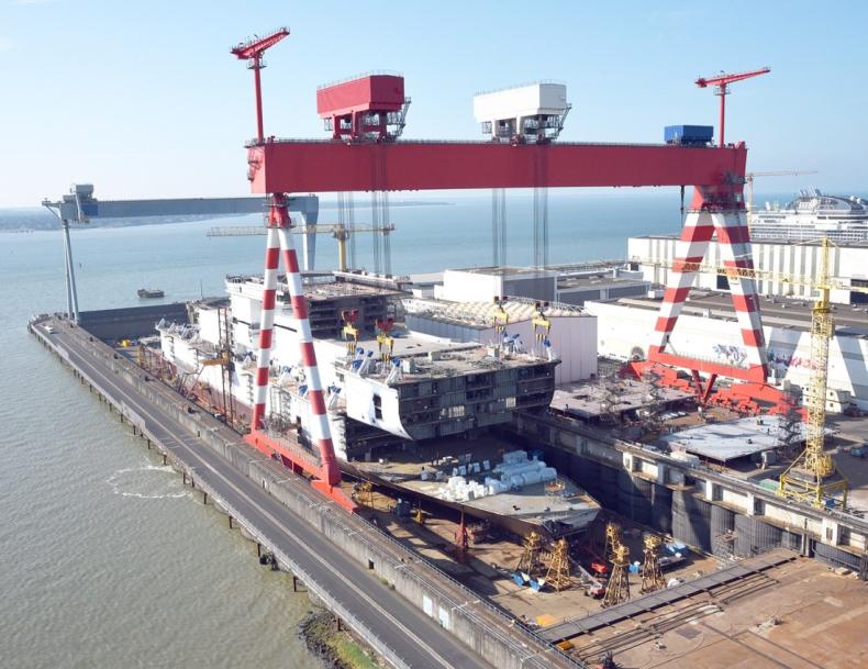 Zbliża się deadline zakończenia włosko-francuskiej umowy stoczniowej - GospodarkaMorska.pl