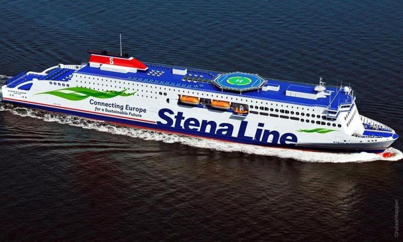 Tygodniowy przegląd promowy, a w nim m.in. o kolejnym nowym promie Stena Line, który dotarł właśnie do Europy  - GospodarkaMorska.pl