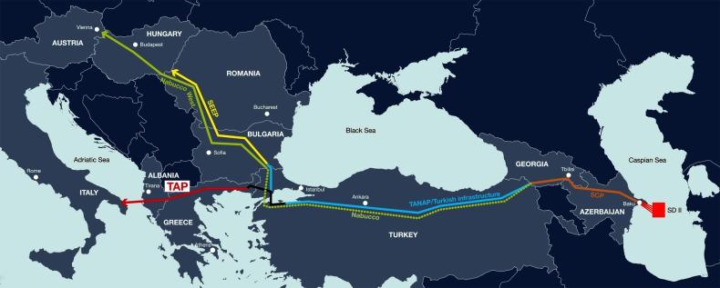 Grecja rozpoczęła import gazu ziemnego z Azerbejdżanu przez Turcję - GospodarkaMorska.pl