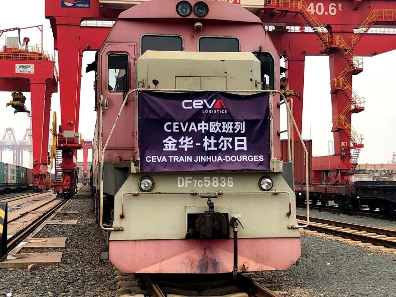 CEVA Logistics uruchamia nowe połączenie kolejowe Chiny-Europa  - GospodarkaMorska.pl