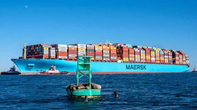 Kolejny kontenerowiec stracił setki kontenerów w czasie rejsu - GospodarkaMorska.pl