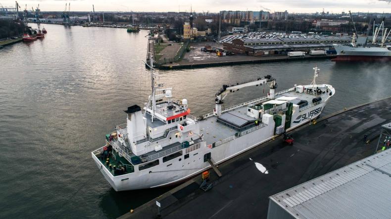 Pierwsza po brexicie dostawa ryb z Wielkiej Brytanii do Portu Gdańsk (foto, wideo) - GospodarkaMorska.pl