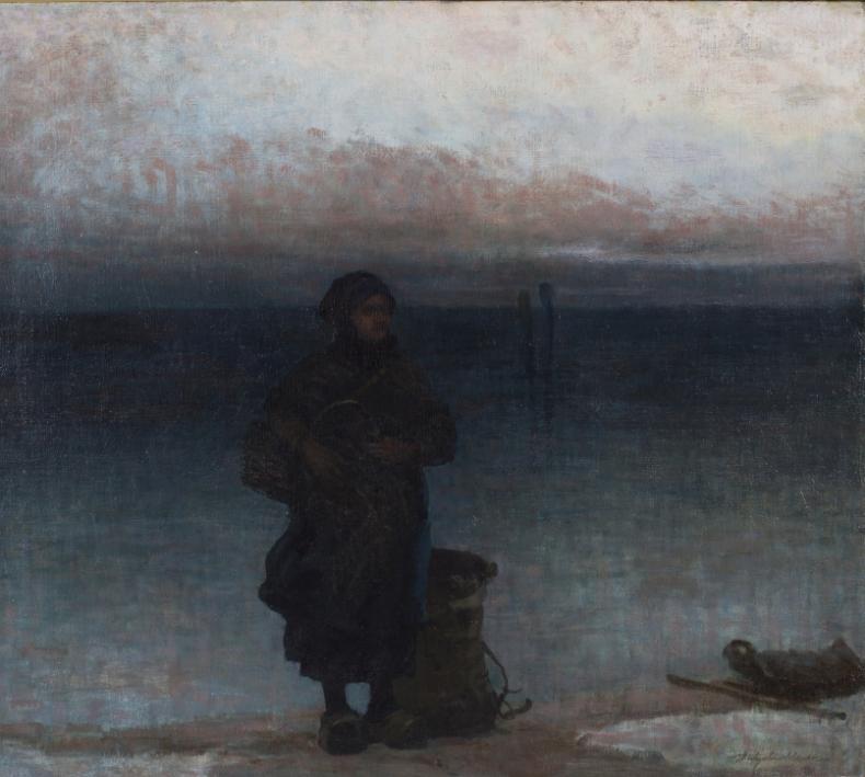 Nowy obraz w kolekcji malarstwa Narodowego Muzeum Morskiego - GospodarkaMorska.pl