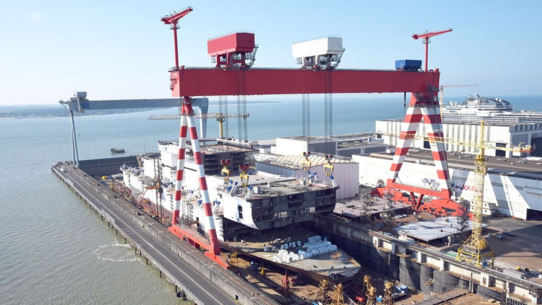 Fincantieri rezygnuje z planów przejęcia francuskiej stoczni Chantiers de l'Atlantique - GospodarkaMorska.pl