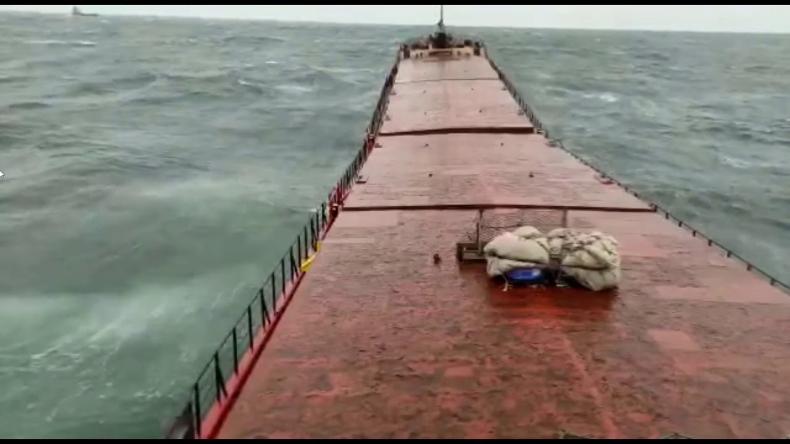 Trzy ciała znalezione po zatonięciu statku towarowego na Morzu Czarnym. Do sieci trafiło dramatyczne nagranie - GospodarkaMorska.pl