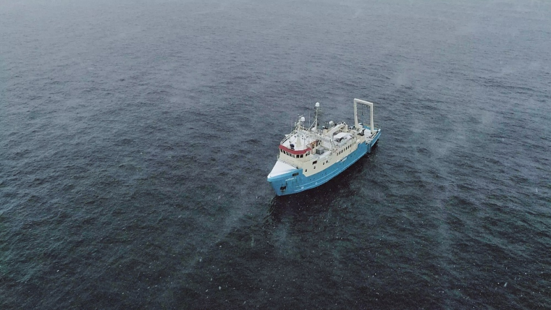 Harmony Link - rozpoczęły się badania dna morskiego - GospodarkaMorska.pl