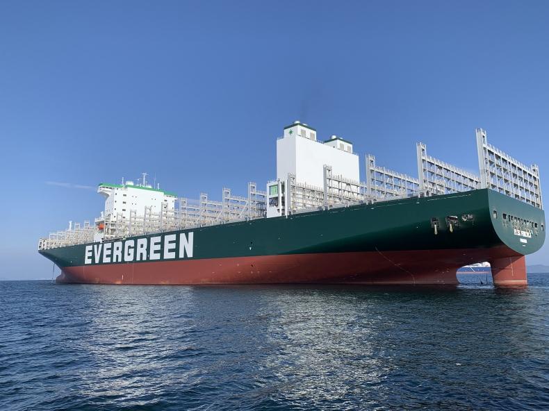 Evergreen łączony z zakupem dwudziestu kontenerowców o ładowności 15 tys. TEU - GospodarkaMorska.pl