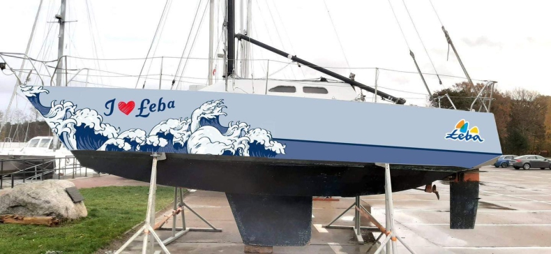 Łeba ma swój pierwszy jacht!  - GospodarkaMorska.pl