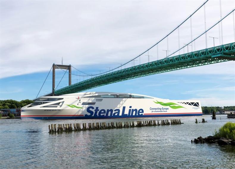 Stena Elektra: pierwszy na świecie statek typu roPax z napędem w 100 procentach elektrycznym - GospodarkaMorska.pl