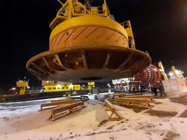 LOTOS Petrobaltic zakupił 280-tonową boję na złoże B8 - GospodarkaMorska.pl