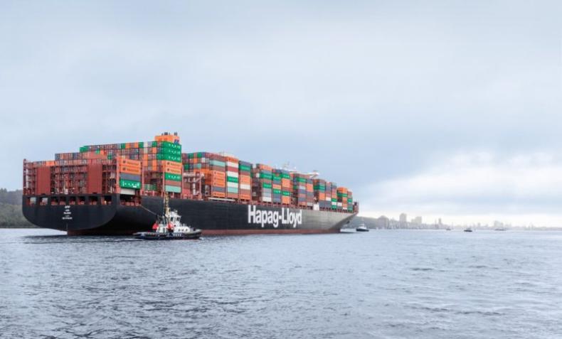 Hapag-Lloyd z finansowaniem na sześć mega kontenerowców napędzanych LNG - GospodarkaMorska.pl