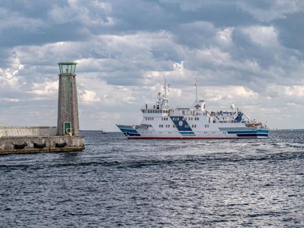 Pierwsze w 2021 roku wyjście statku UMG Horyzont II  - GospodarkaMorska.pl