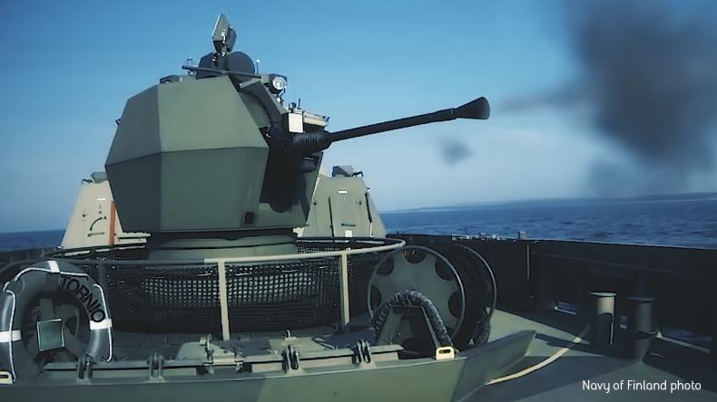 Armaty morskie BAE Systems dla marynarek wojennych Belgii i Holandii - GospodarkaMorska.pl