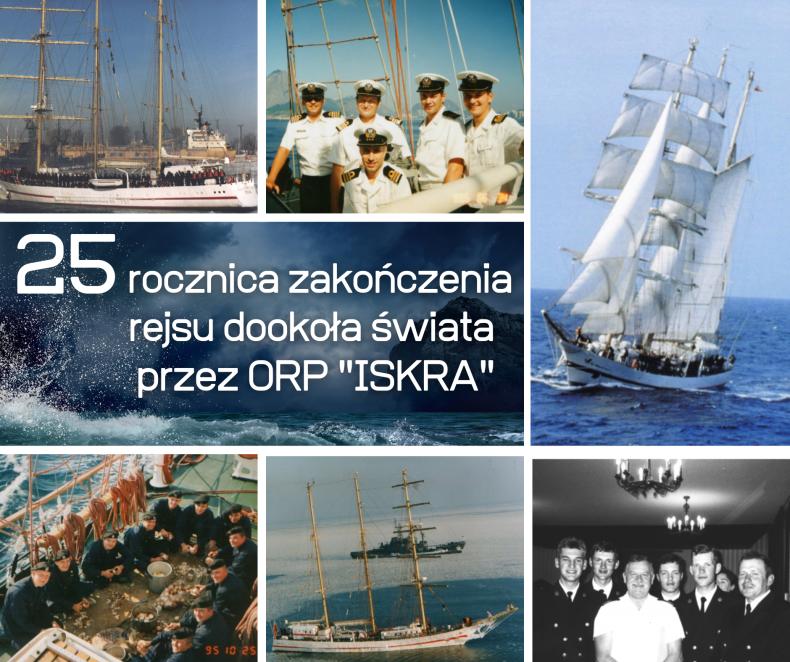 """25. rocznica powrotu ORP """"Iskra"""" z rejsu dookoła świata - GospodarkaMorska.pl"""