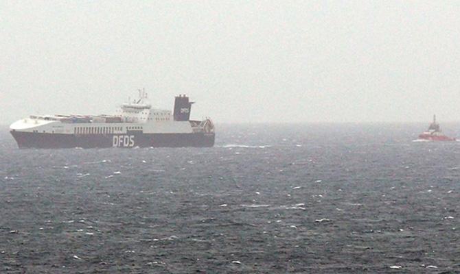 """Pożar na pokładzie statku DFDS """"Gallipoli Seaways"""" [wideo] - GospodarkaMorska.pl"""
