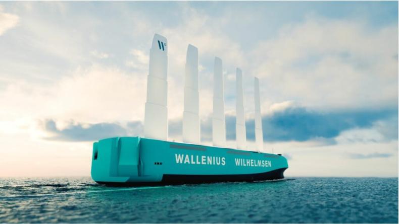 Wallenius Wilhelmsen zbuduje do 2025 roku statek RoRo napędzany wiatrem - GospodarkaMorska.pl