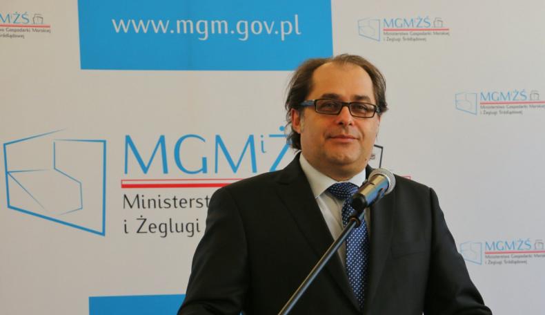 Do prokuratury wpłynęło zawiadomienie przeciwko wiceministrowi Gróbarczykowi - GospodarkaMorska.pl