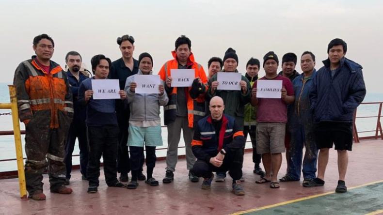 Apel o humanitarność. ITF nawołuje armatorów do ratowania marynarzy uwięzionych u wybrzeży Chin - GospodarkaMorska.pl