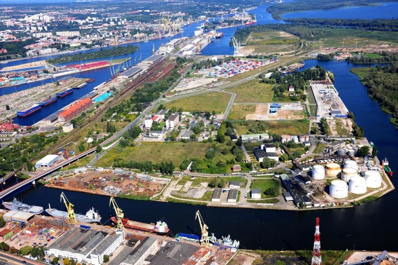 Zachodniopomorskie Centrum Logistyczne w porcie w Szczecinie czeka na inwestora - GospodarkaMorska.pl