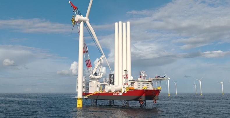 USA: Pierwszy statek do instalacji morskich turbin wiatrowych zgodny z ustawą Jones Act - GospodarkaMorska.pl