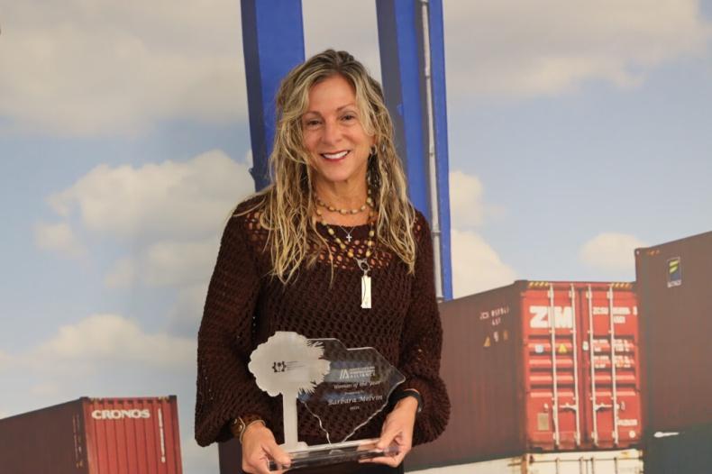 Barbara Melvin, COO Zarządu Portów w Karolinie Południowej – Kobietą Roku 2021 SCMA - GospodarkaMorska.pl