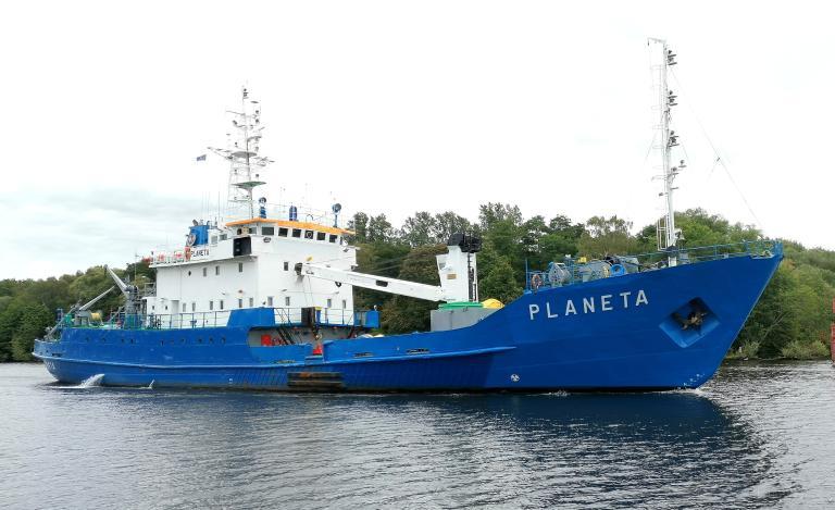 Urząd Morski w Szczecinie wystawia na sprzedaż statek wielozadaniowy Planeta - GospodarkaMorska.pl