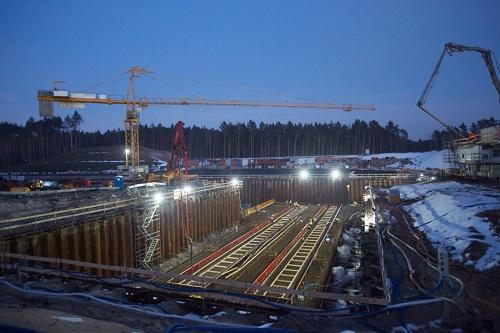 Przez port w Elblągu transportowane są materiały na budowę kanału żeglugowego przez Mierzeję - GospodarkaMorska.pl