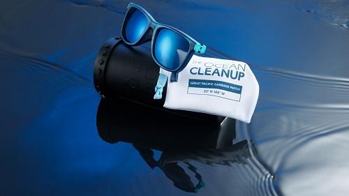 The Ocean Cleanup - okulary słoneczne z plastiku pozyskanego z Wielkiej Pacyficznej Plamy Śmieci - GospodarkaMorska.pl