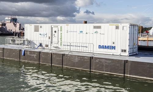 UE i Holandia wspólnie z Damen walczą z inwazyjnymi gatunkami w wodach balastowych - GospodarkaMorska.pl