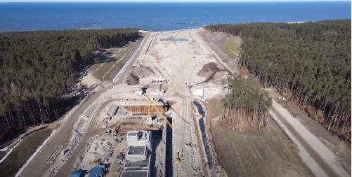 Urząd Morski w Gdyni: wkrótce podpisanie umowy na II etap budowy kanału przez Mierzeję - GospodarkaMorska.pl