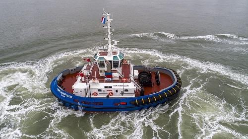 Damen dostarcza dwa holowniki RSD 2513 do Thomes Services Martimes (TMS) - GospodarkaMorska.pl