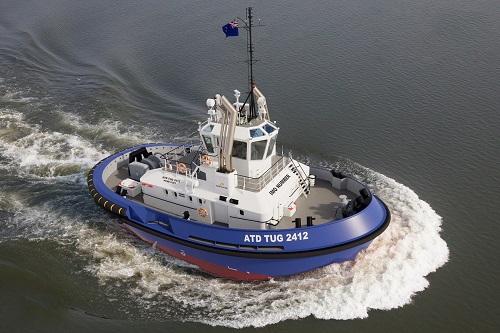 Damen podpisuje z Portem Południowym w Nowej Zelandii kontrakt na holownik ATD 2412 - GospodarkaMorska.pl