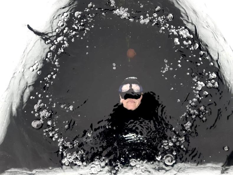 Finka Johanna Nordblad z rekordem świata w nurkowaniu swobodnym pod lodem - GospodarkaMorska.pl