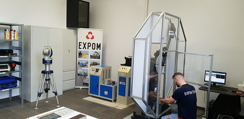 Laboratorium Expom - badania przy użyciu nowoczesnych przyrządów pomiarowych - GospodarkaMorska.pl