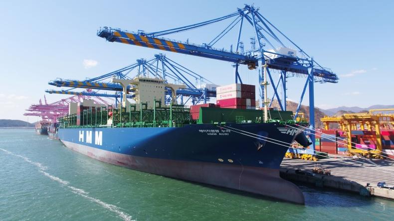 HMM Nuri pierwszym z megakontenerowców o wielkości 16 000 TEU od Hyundai Heavy Industries - GospodarkaMorska.pl