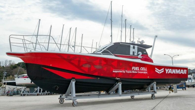 Kolejna firma testuje wykorzystanie wodoru w żegludze morskiej - GospodarkaMorska.pl