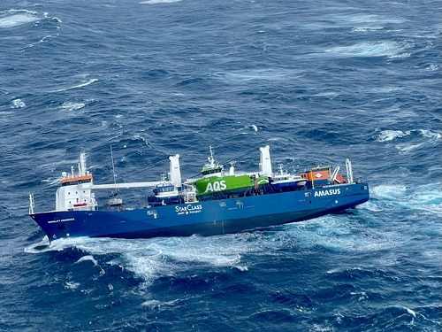 Po akcji ratunkowej Eemslift Hendrika nadal dryfuje na Morzu Północnym - GospodarkaMorska.pl