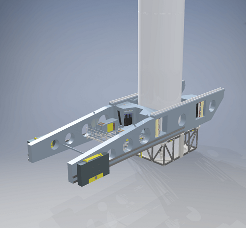 Przełomowy projekt SkyWalker w instalacji turbin wiatrowych  - GospodarkaMorska.pl