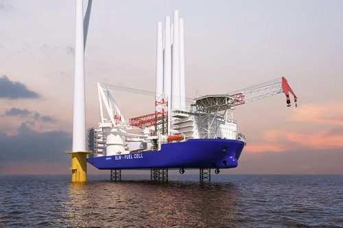 Innowacyjna jednostka do instalacji turbin Samsung Heavy Industry - GospodarkaMorska.pl