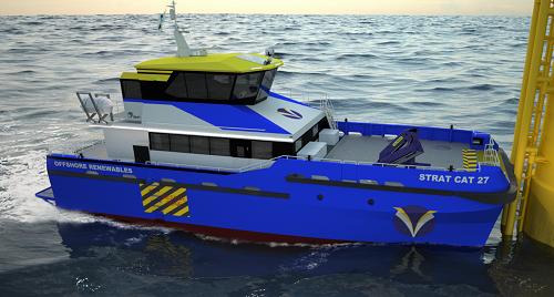 Strategic Marine przedstawia nowy model Strat Cat CTV - GospodarkaMorska.pl