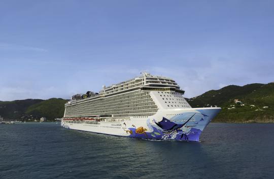 Plastikowe słomki zakazane na statkach Norwegian Cruise Line Holdings  - GospodarkaMorska.pl