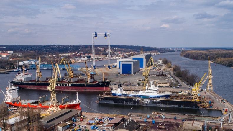 Wuprohyd zaprojektuje infrastrukturę pod nowy dok pływajacy dla stoczni Gryfia - GospodarkaMorska.pl