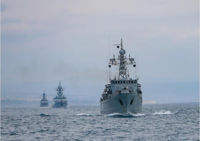 Okręty rosyjskiej Floty Czarnomorskiej wypłynęły na ćwiczenia artyleryjskie - GospodarkaMorska.pl