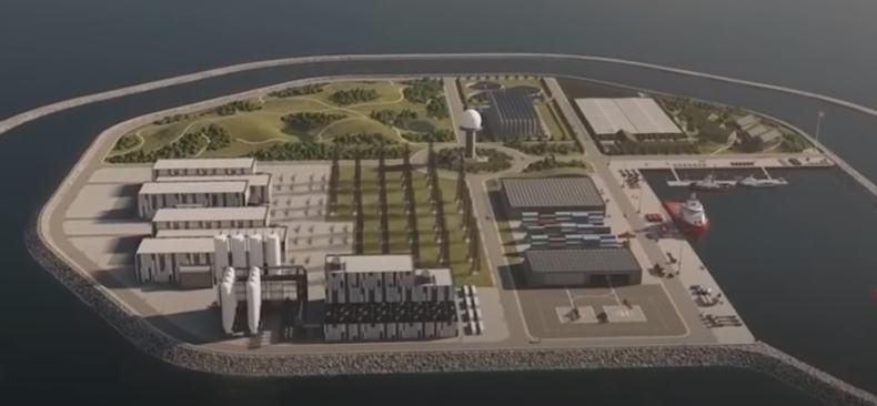 Prace projektowe przy Bornholm Energy Island idą pełną parą - GospodarkaMorska.pl