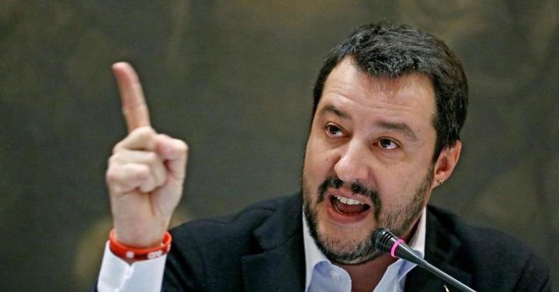 Włochy: były wicepremier Salvini stanie przed sądem za przetrzymywanie migrantów - GospodarkaMorska.pl