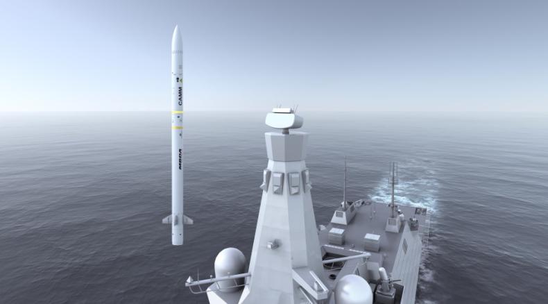 System Sea Ceptor firmy MBDA zamówiony dla fregat Canadian Surface Combatant - GospodarkaMorska.pl