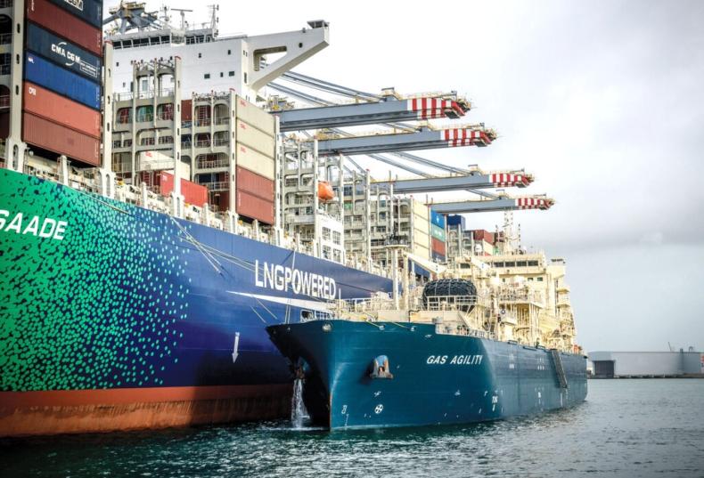SEA-LNG: Badania potwierdzają skuteczność LNG w obniżaniu emisji gazów cieplarnianych - GospodarkaMorska.pl