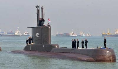 Indonezja: Marynarka wojenna straciła kontakt ze swoim okrętem podwodnym - GospodarkaMorska.pl