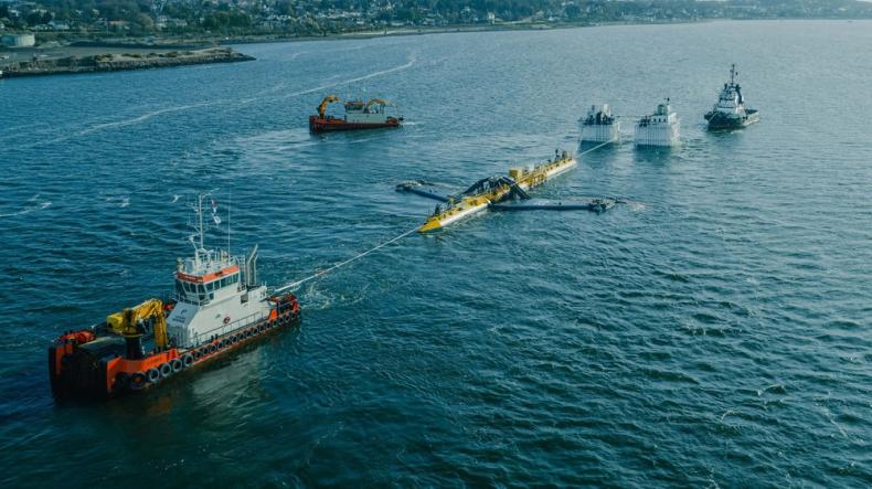 Orbital Marine uruchamia najpotężniejszą na świecie turbinę pływową - GospodarkaMorska.pl