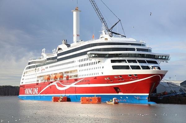 Pomyślne zakończenie testów technologii Rotor Sail na promie MS Viking Grace - GospodarkaMorska.pl